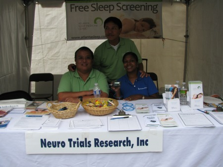 NeuroTrials Staff at theDecatur Book Festival